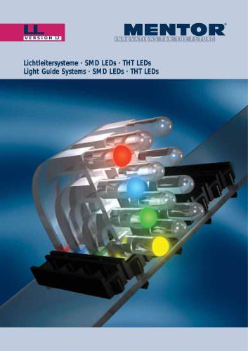 MENTOR Light Guide Systems, SMD-LEDs, THT LEDs