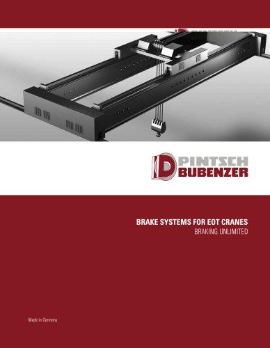 Brake System For Eot Cranes