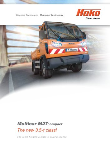 Multicar M27compact