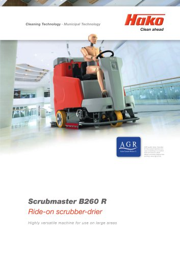Scrubmaster B260 R
