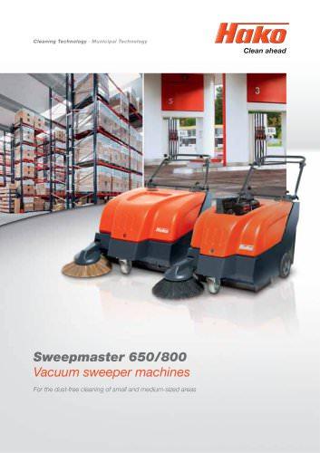 Sweepmaster 650/800