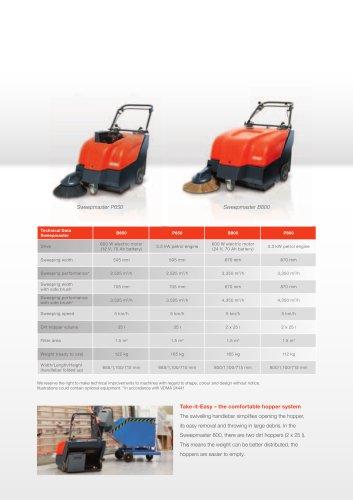 Sweepmaster B/P800