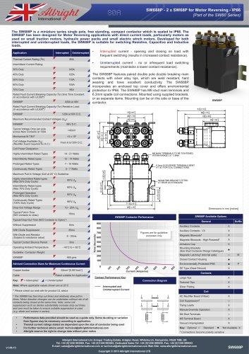 SW688P - 2 x SW68P for Motor Reversing - IP66