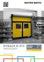 DYNACO D-313 EMERGENCY