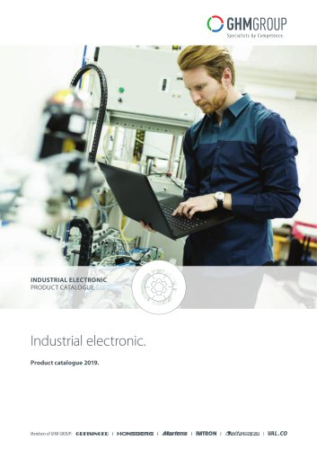 GHM Industrial Electronics Product Catalog 2019