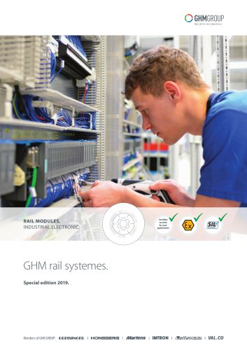 GHM Rail modules special edition 2019