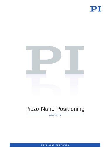 Catalog: PI Piezo Nano Positioning 2014/2015