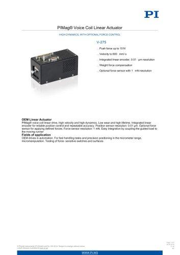PI Datasheet V-275