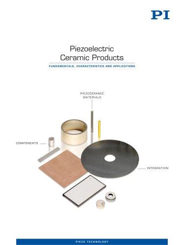 PI Piezoelectric Ceramic Products