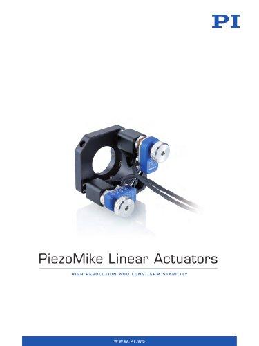 Piezo Mike Linear Actuators