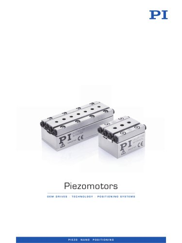 Piezo Motors and Stages