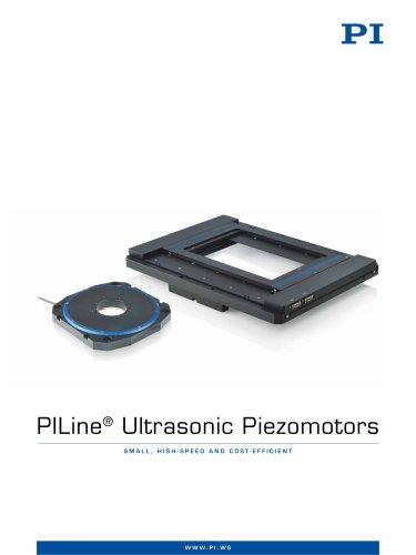 PILine® Ultrasonic Piezomotors