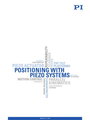 Positioning with Piezo Systems