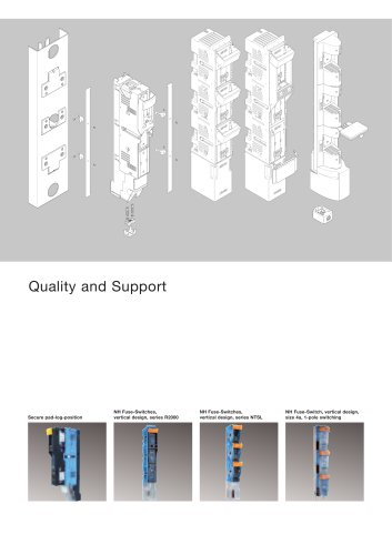 NH Fuse-Switches - vertical design