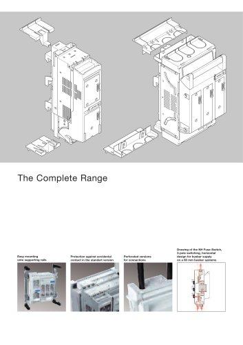 NHFuse-Switches – horizontal design SILAS