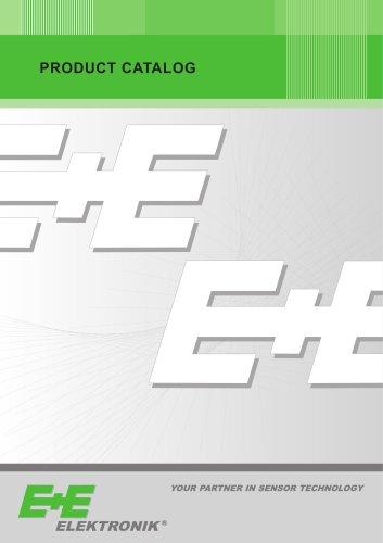 E+E Product Catalog