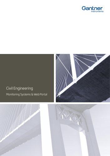 Civil Engineering Monitoring Systems & Web Portal