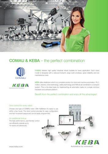 COMAU & KEBA – the perfect combination