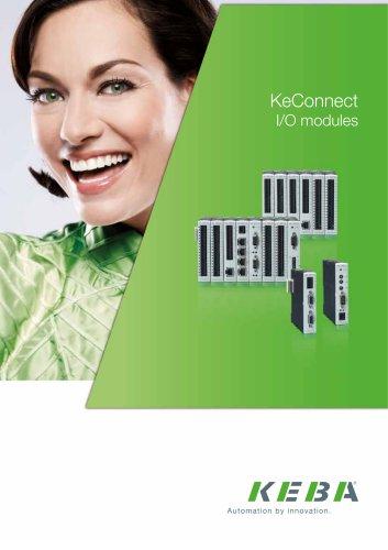 KeConnect I/O modules