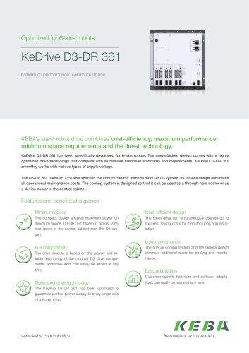 KeDrive D3-DR 361
