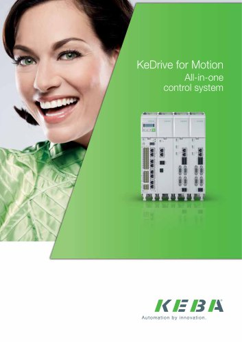 KeDrive for Motion All-in-one control system