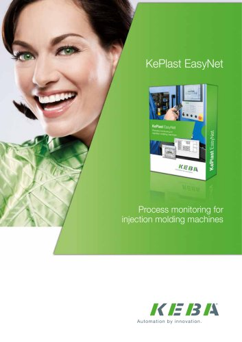 KePlast EasyNet - Process monitoring for injection molding machines