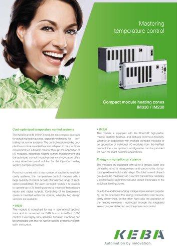KePlast Hotrunner modul