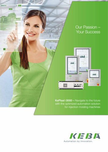 KePlast i3000 - The optimized automation solution for injection molding machines