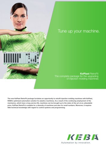 KePlast RetroFit - The complete package for the upgrading of injection molding machines