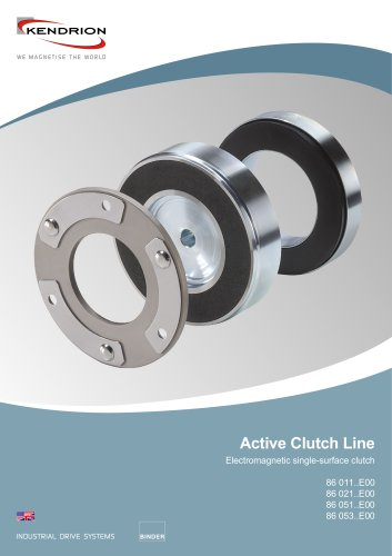 Electromagnetic clutch - Active Clutch Line
