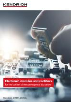 Electronic modules and components (English)