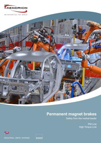 Mini permanent magnet brake
