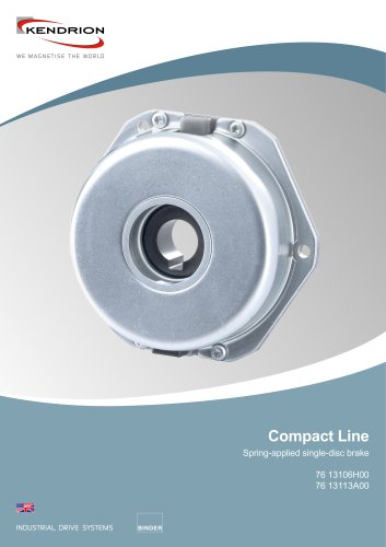 Spring-applied brake - Compact Line