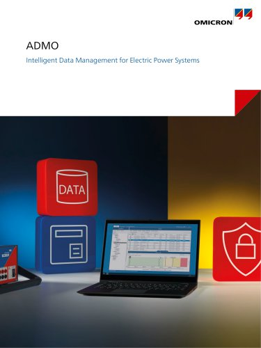 ADMO - Intelligent Data Management for Electric Power Systems