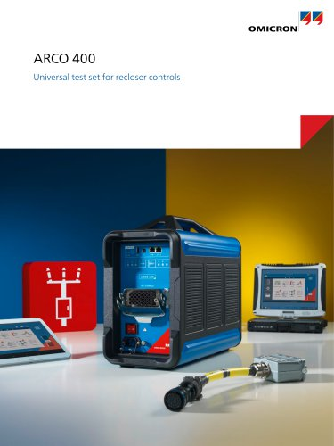 ARCO 400-Universal Test Set for Recloser Controls