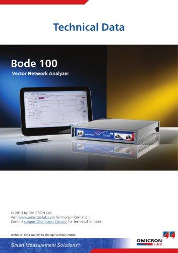 Bode 100 - Technical Data