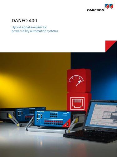 DANEO 400 - Hybrid signal analyzer for power utility automation systems