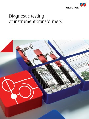 Diagnostic testing of instrument transformers