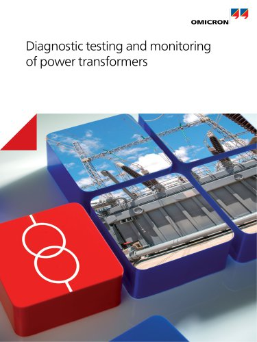 Diagnostic testing and monitoring of power transformers