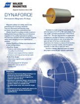 Dynaforce? Permanent Magnetic Separator Pulleys