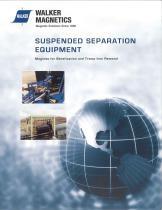 Suspended separation equipment