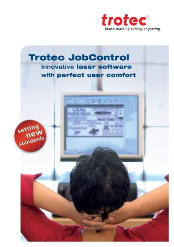 "Laser software ""Jobcontrol"""