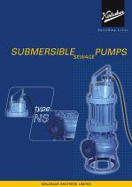 NS Non Clog Submersible Pump - 1
