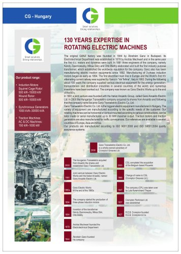 ROTATING ELECTRIC MACHINES
