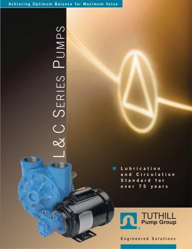 C Series Circulation Pumps L and C Series Product Brochure