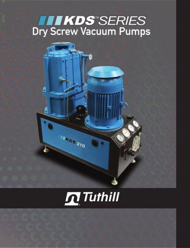 KDS Dry Screw Vacuum Pump
