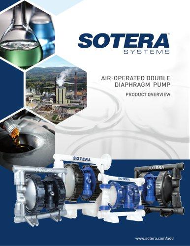 Sotera Air Operated Diaphragm Pump