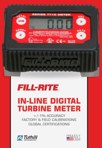 TT10 In-Line Digital Turbine Meter
