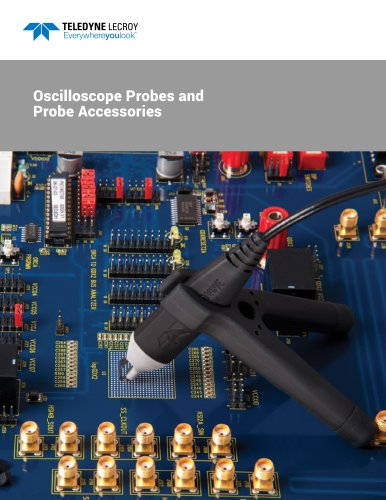 Oscilloscope Probes and Probe Accessories