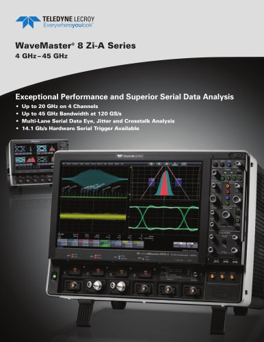 SDA 8 Zi-A Serial Data Analyzers